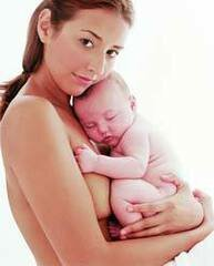 Māte ar berniņu