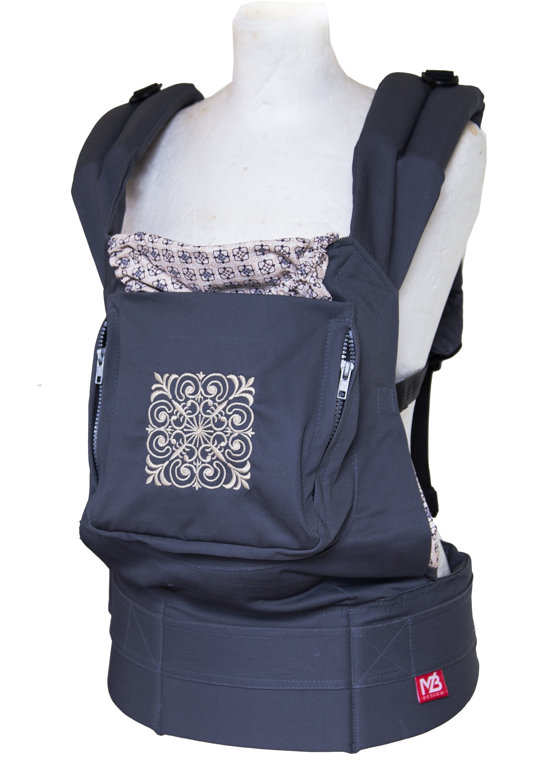 Ergonomic baby carrier Magic square - sling, backpack