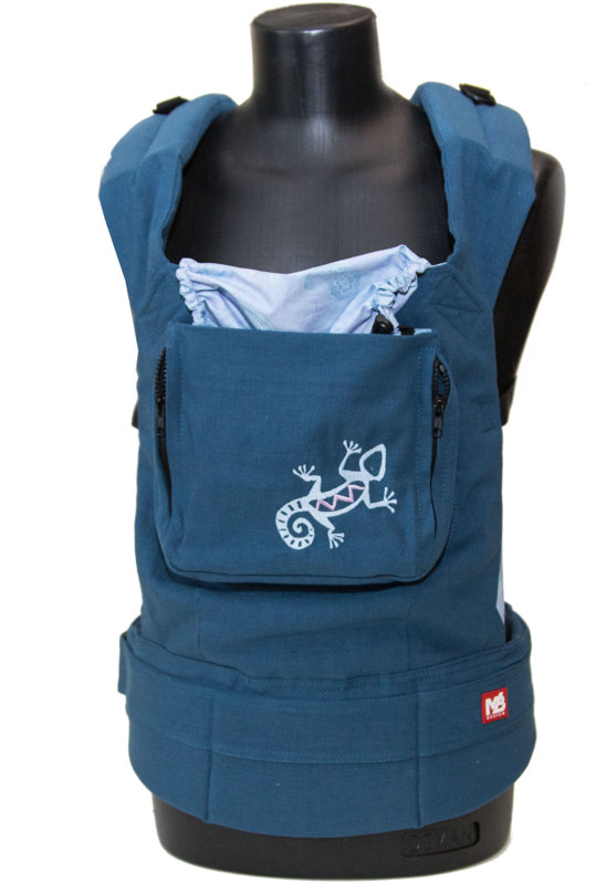 Ergonomic baby carrier Blue Lizard - sling, backpack