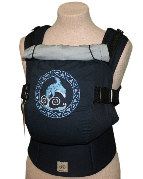 Ergonomic baby carrier TeddySling LUX - Delphin