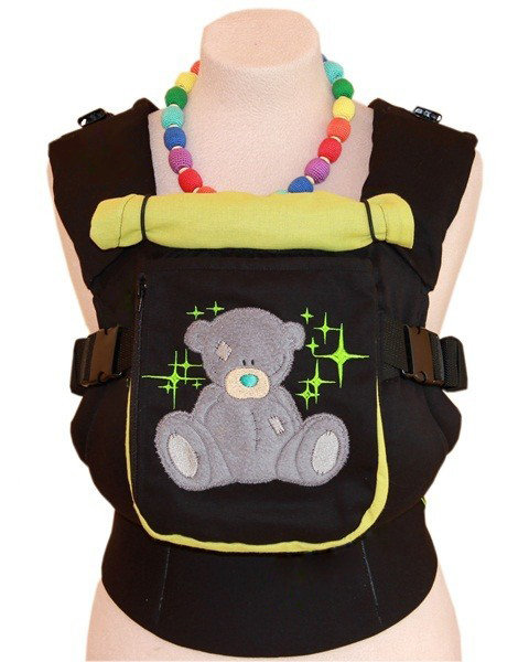 Ergonomic baby carrier TeddySling LUX with a pocket- Teddy in Stars