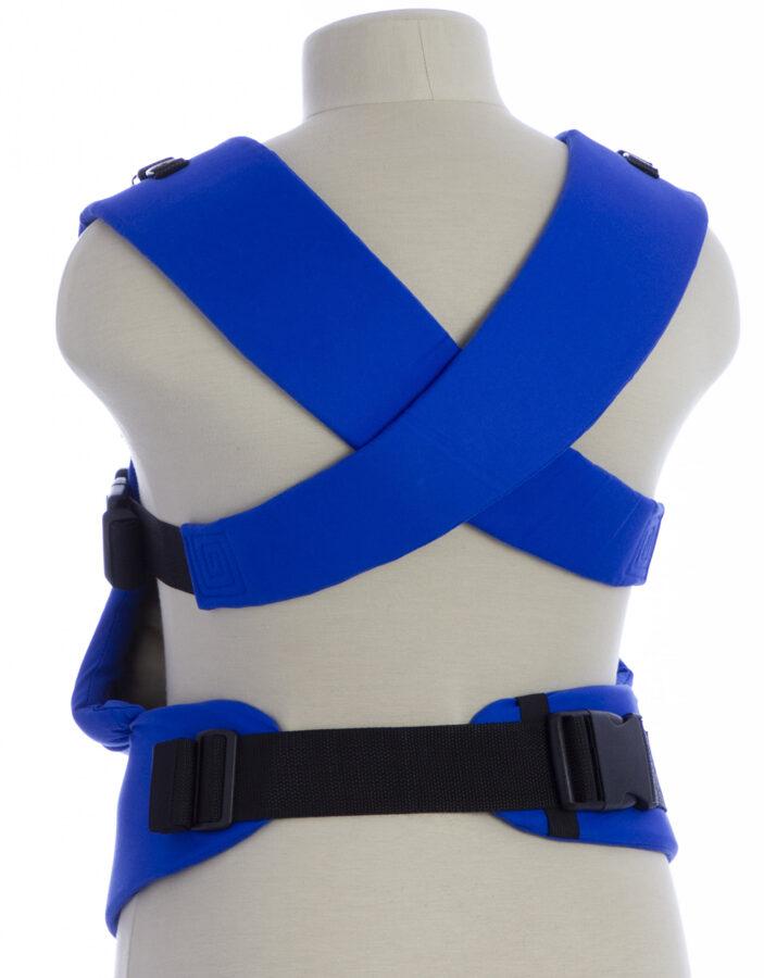 Ergonomiskā soma TeddySling LUX Blue Nature - bērna pārnēsāšanas soma, slings, ergosoma, ergonomiskā ķengursoma