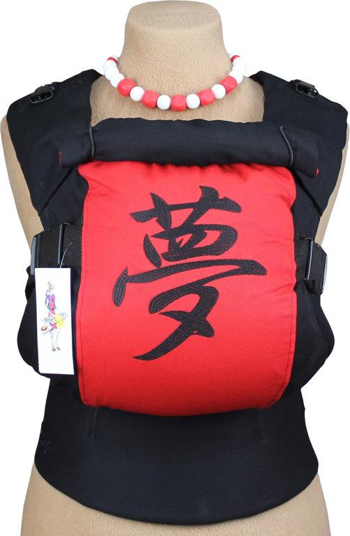 Ergonomiskā soma TeddySling LUX Dream & Love - bērna pārnēsāšanas soma, slings, ergosoma, ergonomiskā ķengursoma