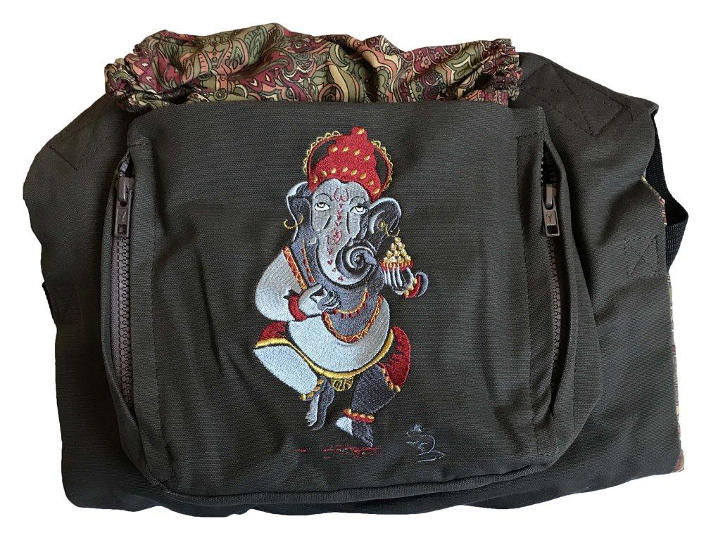Ergonomiskā soma MB design - Ganesha  - bērna pārnēsāšanas soma, slings, ergosoma