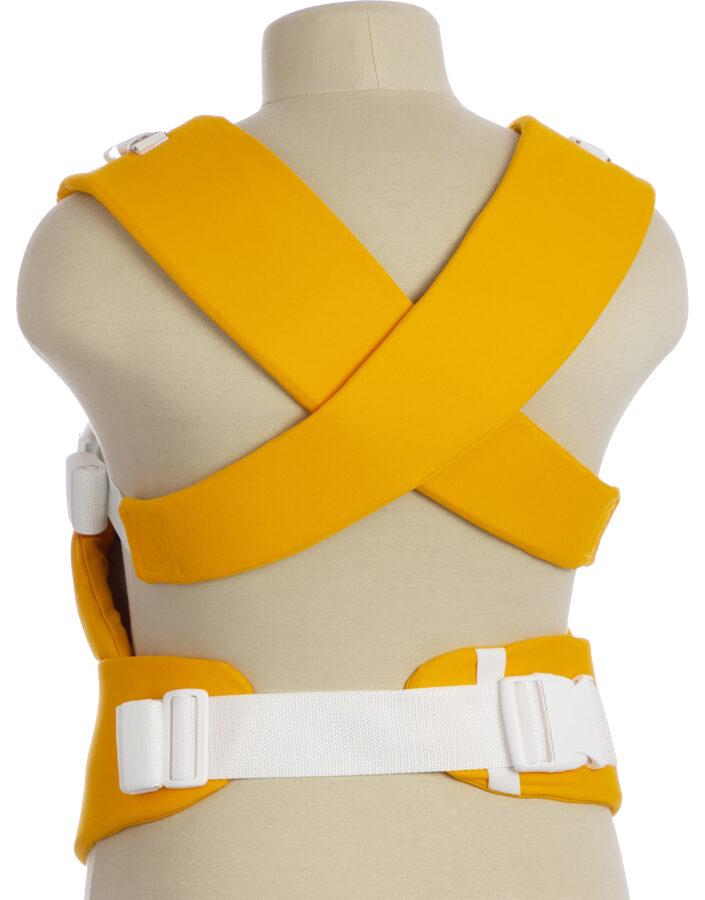 Ergonomic baby carrier TeddySling LUX - Ethnic Sun Yellow