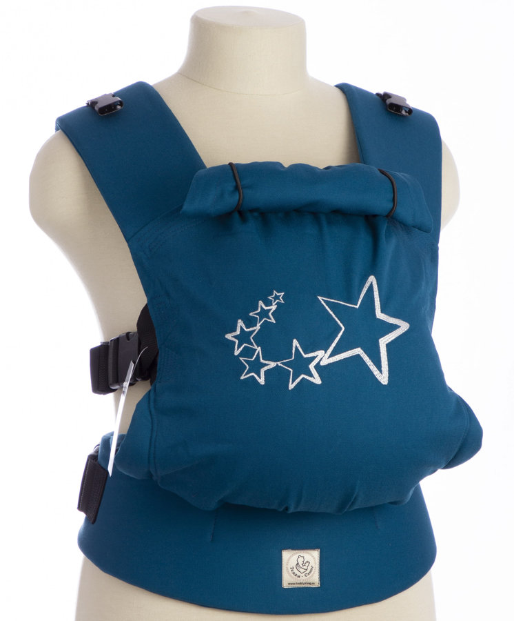 TeddySling Comfort baby carrier - Sky blue stars
