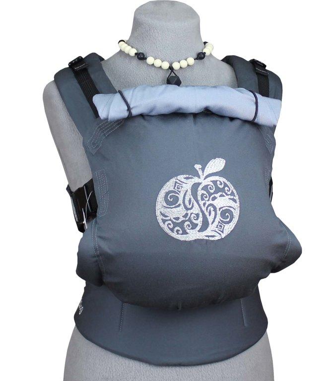 TeddySling Comfort baby carrier - Grey Apple