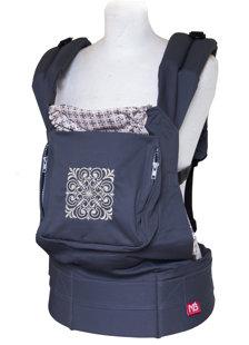Эрго рюкзак слин с накладками на лямки  - Magic square