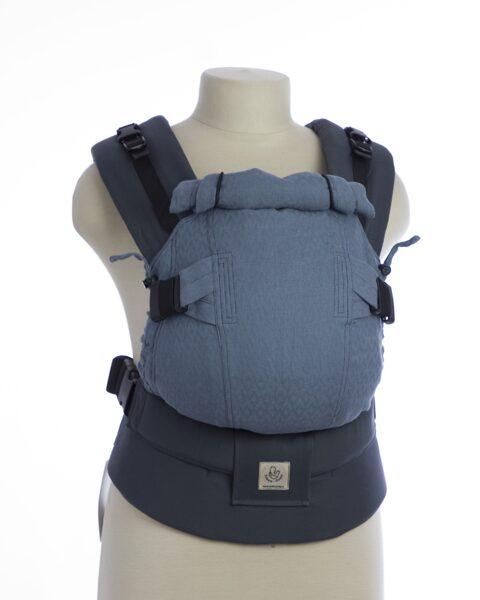 Эргономичный рюкзак TeddySling Mini LUX Grey - слинг, эрго-рюкзак, эргономичная сумка кенгуру