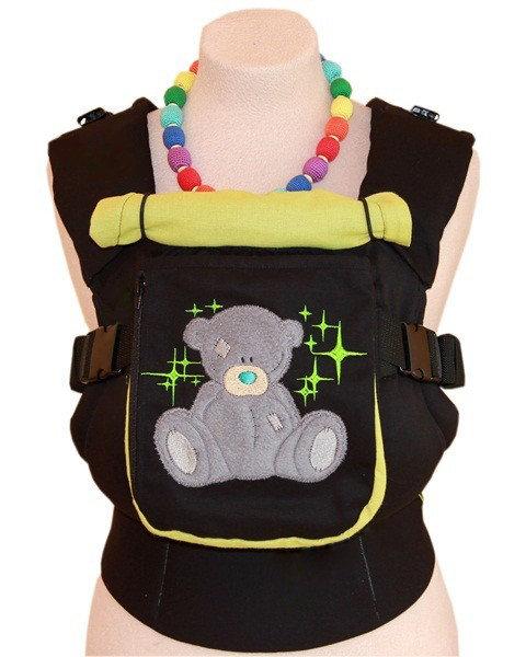 Эрго рюкзак TeddySling LUX Teddy in Stars с карманом